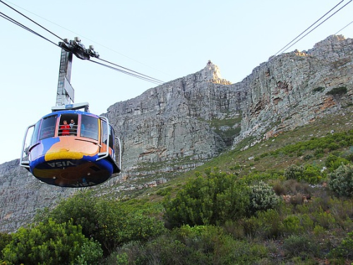 The Table Mountain Cableway (Full Demo)